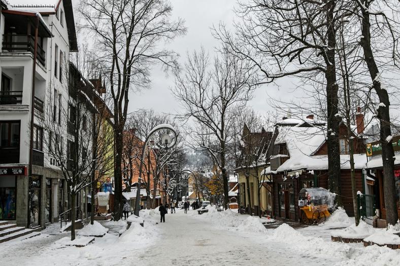 La calle Krupówki