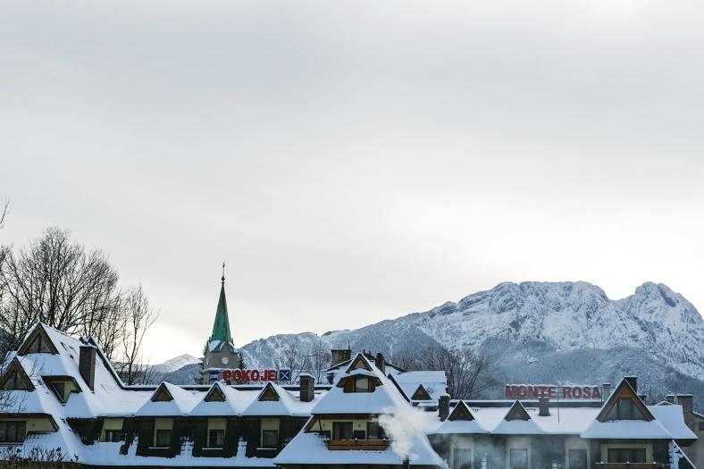Las montañas Tatra al fondo