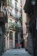 Calle Regomir en el Barrio Gótico