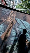 Graffiti en El Raval