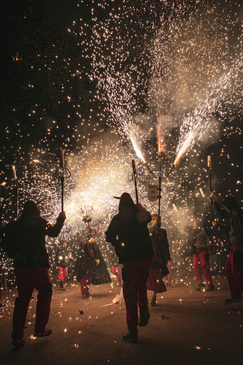 Correfocs Festa Major Clot-Camp de l'Arpa 2019