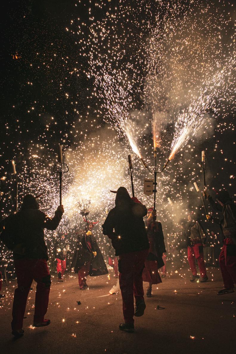 Correfocs Festa Major Clot-Camp de l'Arpa 2019
